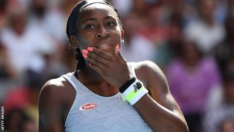 Coco Gauff, 15, crashes out in tears at Australian Open