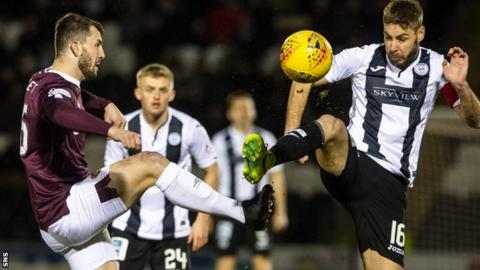 Hearts were condemned to Premiership bottom spot after losing to St Mirren in the SPFL's final fixture in March