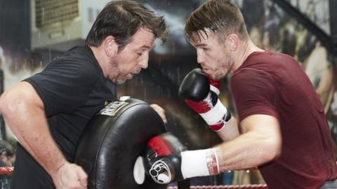 Callum Smith trains with Manchester-based Joe Gallagher and is unbeaten in 22 fights