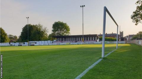 Atherton Collieries' 2,500-capacity Alder House ground