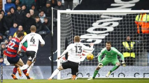 Pawal Wszolek equalises for QPR