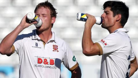Tom Westley and Sir Alastair Cook