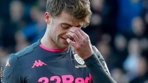Patrick Bamford looks dejected