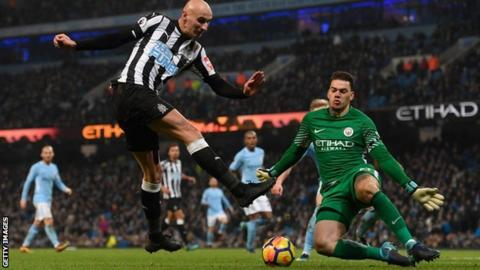 City 'keeper Ederson sets sights on a goal