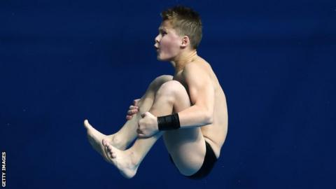 Tom Daley record broken by 13-year-old Oleksii Sereda