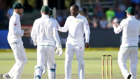 South Africa win inaugural four-day Test inside two days