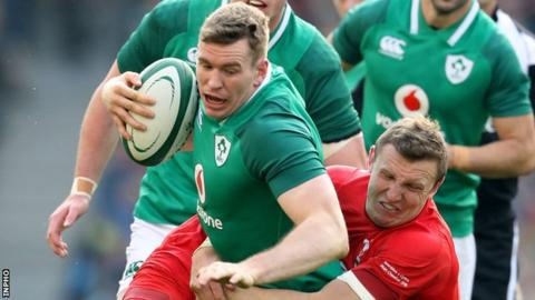 Ireland's Chris Farrell set to miss rest of Six Nations