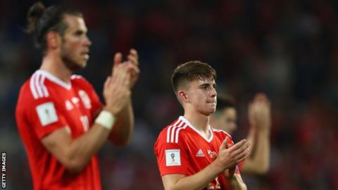 Gareth Bale and Ben Woodburn