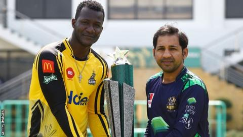 Daren Sammy and Sarafraz Ahmed