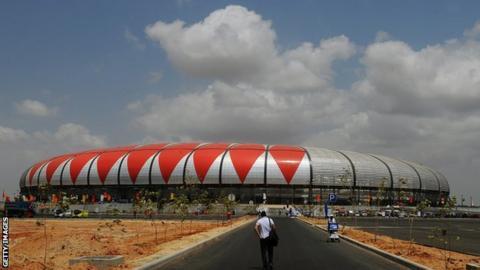 Estádio 11 de Novembro stadium in Angola