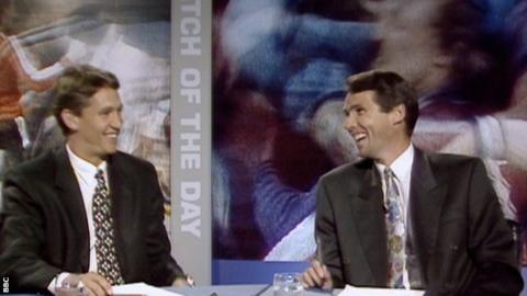 Gary Lineker and Alan Hansen