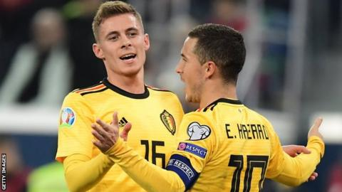 Thorgan Hazard, Eden Hazard