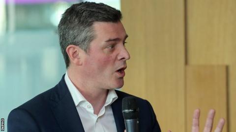Olympic Federation of Ireland chief executive Peter Sherrard