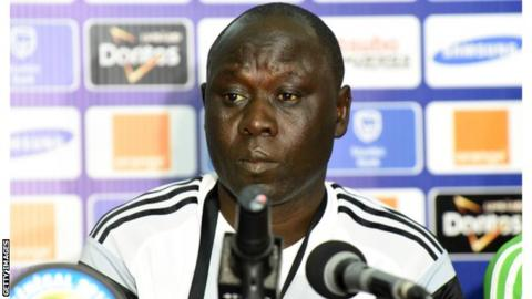 Nigeria under-17 coach Manu Garba