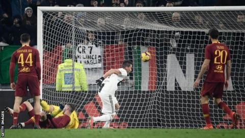 Juventus vs. AS Roma - Football Match Report