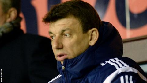 Daniel Prodan was in Scotland in 2014 as coach of the Romania under-17 team