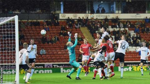 Adam Jackson heads in for Barnsley