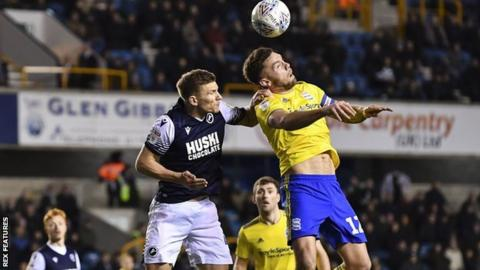 Defences remained on top throughout in the Millwall-Birmingham game at The Den