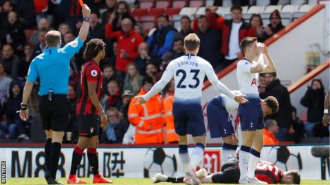 c23e4d3cc Foyth was sent off just two minutes and 13 seconds after being sent on
