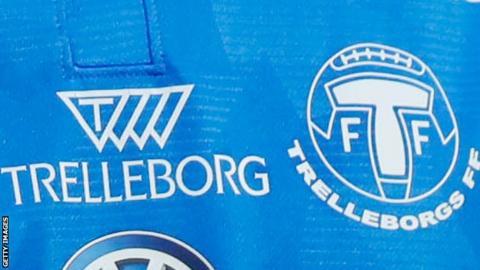 The logo for Swedish club Trelleborgs FF
