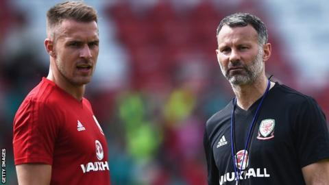 Ryan Giggs raves about reported Liverpool target Aaron Ramsey