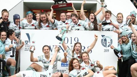 Cambridge Women celebrate
