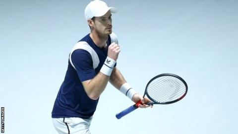 'I did not deserve to grab' - Murray after giving GB lead in Davis Cup tie thumbnail