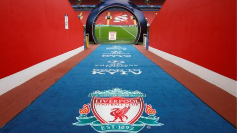General view inside Anfield