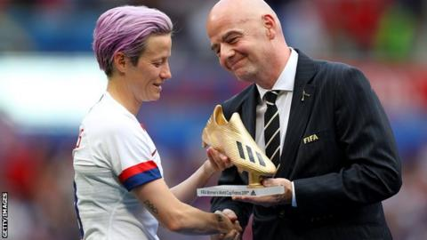 Women's World Cup 2019: Fifa reports record-breaking viewing figures