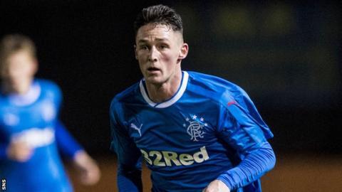 Rangers midfielder Jordan Thompson