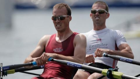 Brothers Peter and Richard Chambers helped Britain win an Olympic silver medal in 2012