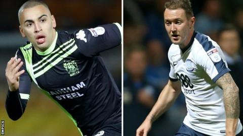 James Vaughan and Aiden McGeady
