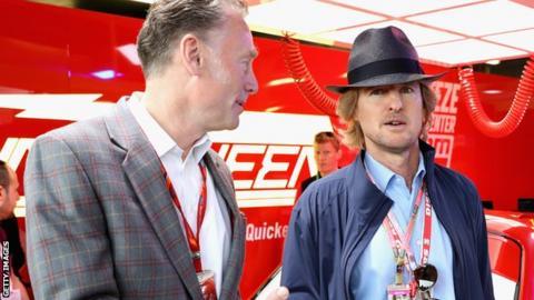 Owen Wilson and Sean Bratches