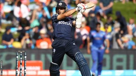Kyle Coetzer at the 2015 World Cup