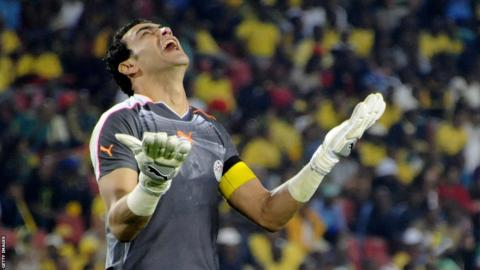 Egyptian veteran goalkeeper Essam El Hadary