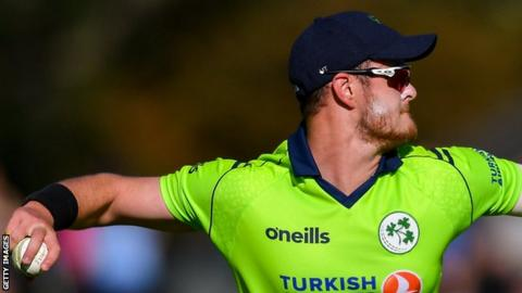 Ireland's Mark Adair plays inter-provincial cricket with the Belfast-based Northern Knights