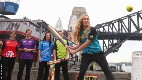 Brisbane Heat's Holly Ferling