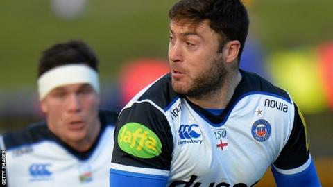 Matt Banahan in action for Bath