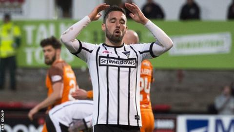 Nicky Clark is leaving Dunfermline for Dundee United