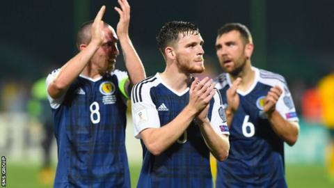 Robertson was a stand-out performer in Scotland's victory