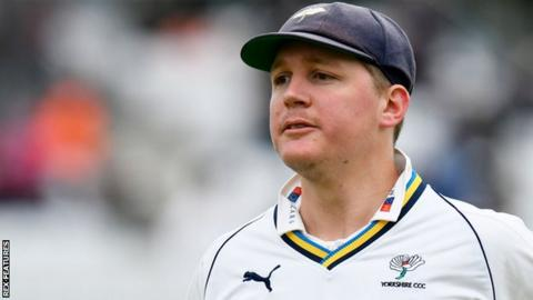 Gary Ballance in action for Yorkshire