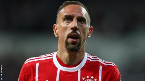 Ribery pens one-year contract extension at Bayern