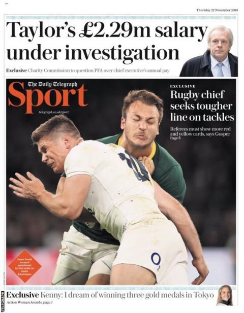Thursday's Telegraph