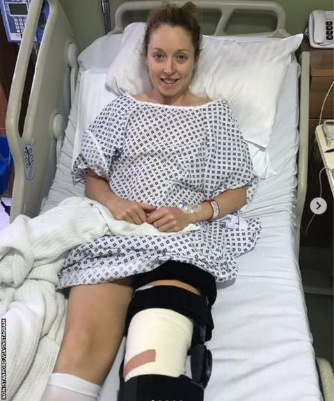 Non Stanford after her operation