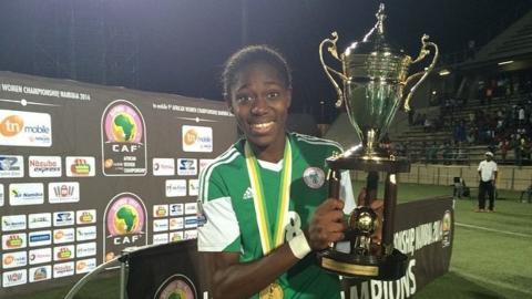 Nigeria and Arsenal's Asisat Oshoala