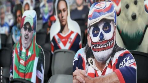 Cut-outs are being used in Australia's NRL