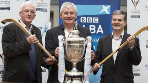 The semi-final draw was made at BBC Scotland's Pacific Quay