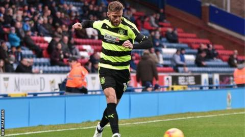 Huddersfield Town defender Martin Cranie