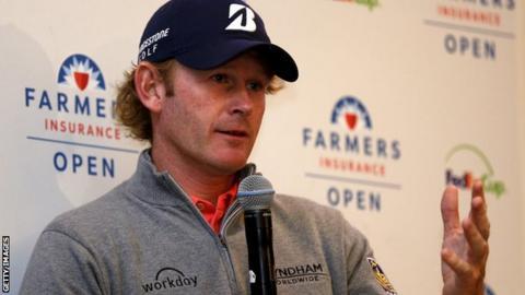 US golfer Brandt Snedeker