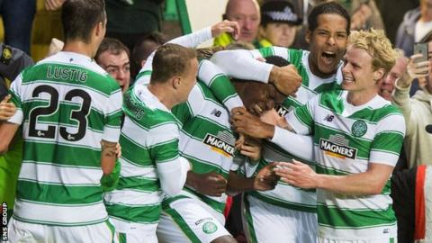 Celtic beat Qarabag in the previous qualifying round
